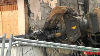 House in Southway, Plymouth, demolished after gas explosion