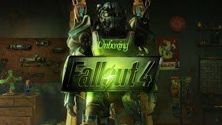Распоковка Fallout 4 Специально Издание Unboxing Fallout 4 Special Edition