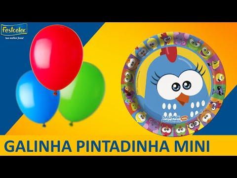 Decoração de festa infantil l Galinha Pintadinha Mini