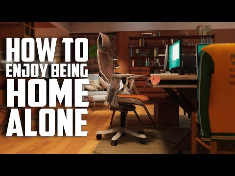 HOW TO ENJOY BEING HOME ALONE IN VR • HACKER HOSTEL VR - HTC VIVE GAMEPLAY