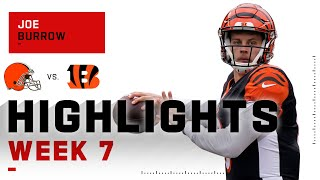 Joe Burrow Throws for 406 Yds in Loss! | NFL 2020 Highlights