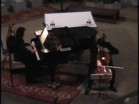 Martin Ostertag, Violoncello, und Sontraud Speidel, Klavier