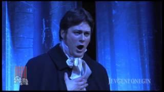 Lenski aaria ooperist Jevgeni Onegin. Vanemuise teatris.