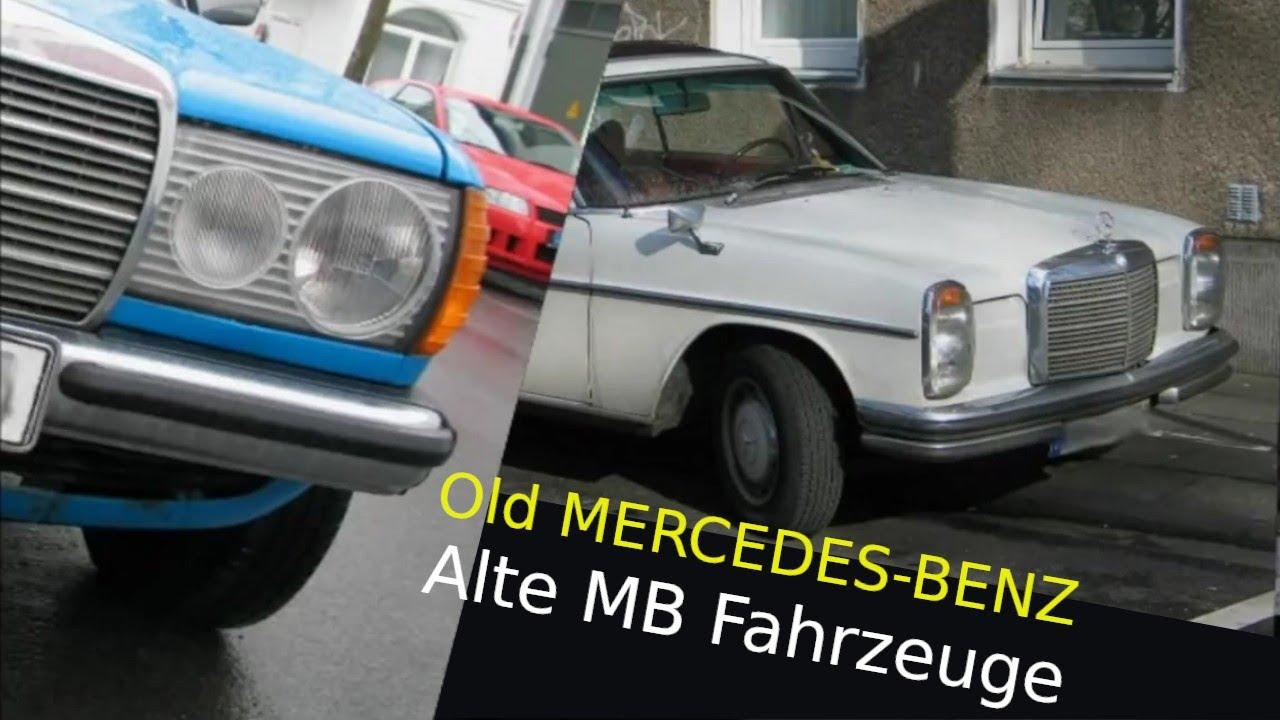 Alte Mercedes Benz PKW