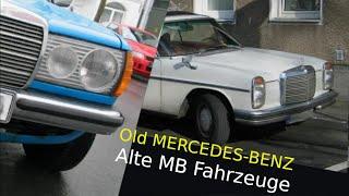 Alte Mercedes-Benz PKW - Old Mercedes-Benz cars - Oldtimer - vintage cars - classic cars