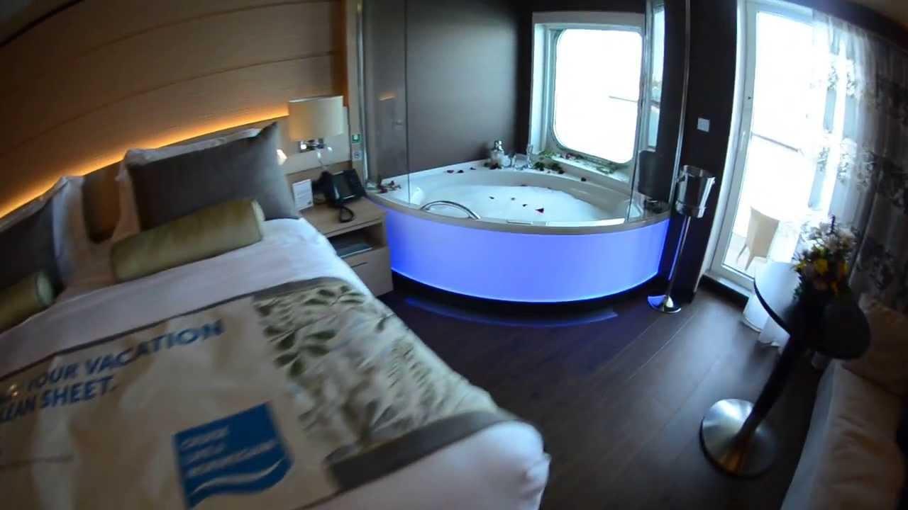 New Norwegian Getaway Haven Spa Suite Tour Youtube