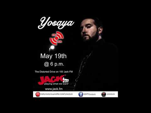 Yosaya - Live Interview On 100 Jack FM The Distorted Drive