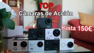 Top mejores cámaras de acción por menos de 150€