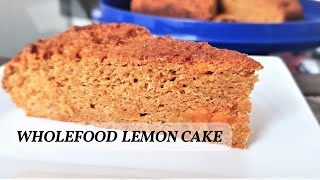 Wholefood Lemon Cake