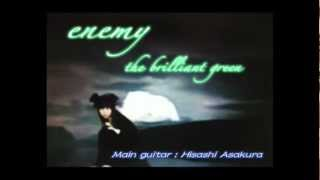 enemy (the brilliant green) を弾いてみた。