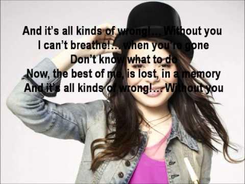 Miranda Cosgrove-All Kinds Of Wrong Lyrics FULL! - YouTube
