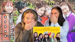 (UN)HELPFUL GUIDE TO SECRET NUMBER (WHO DIS? ERA) REACTION!!! - Triplets REACTS