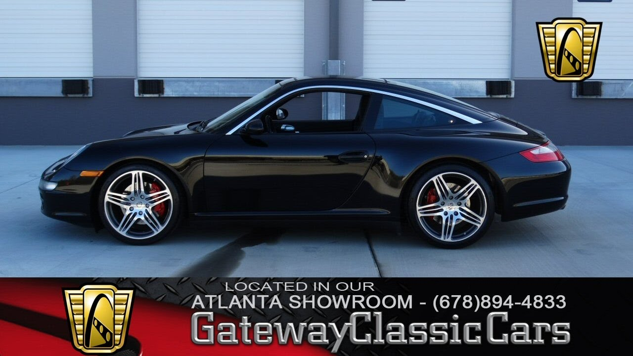 2008 porsche 911 carrera 4s targa gateway classic cars. Black Bedroom Furniture Sets. Home Design Ideas