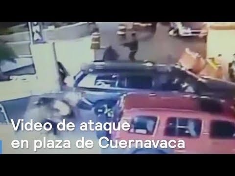 Difunden video de balacera en Plaza Marina de Cuernavaca - Despierta con Loret