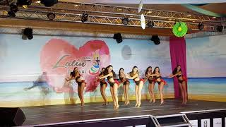 DNA Lynn ladies team salsa performance @Lebanone Latin Festival