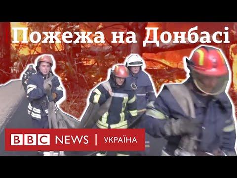 На Донбасі пожежі нищать будинки і ліси