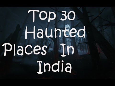 Top 30 haunted places in India | Just Saw A Ghost | Hindi