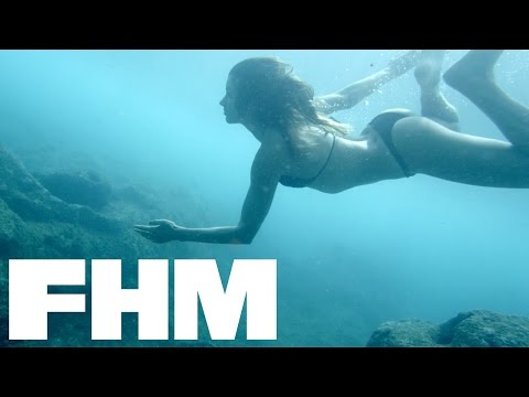 510b43072b0500 FHM Sexy Shorts Presents: Surf's Up with Anastasia Ashley - YouTube