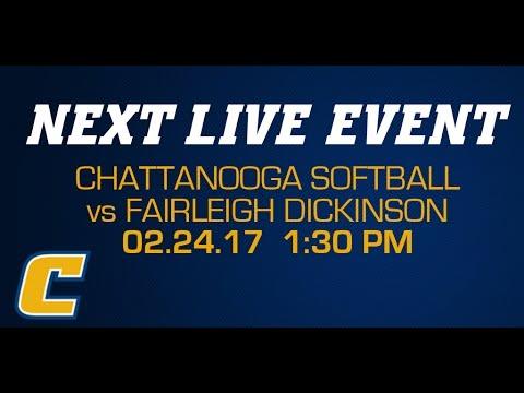 Chattanooga Softball vs Fairleigh Dickinson - 02/24/17