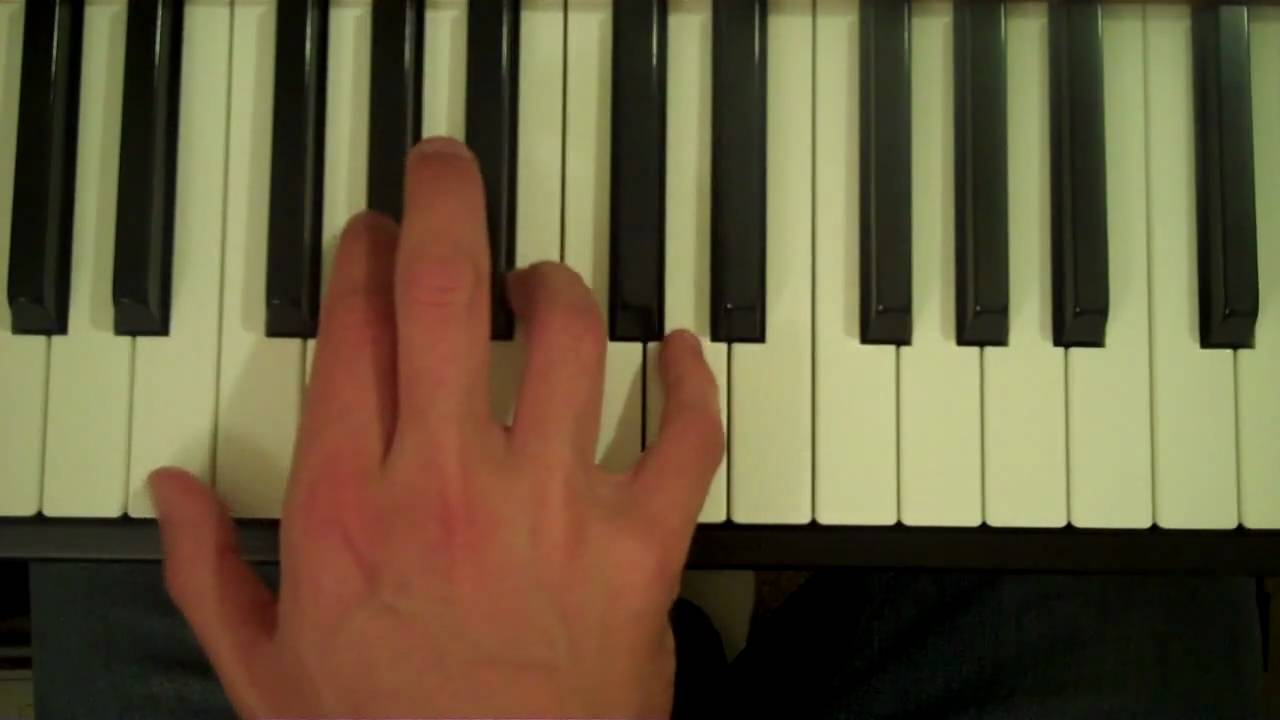 How To Play an E7 Chord on the Piano - YouTube