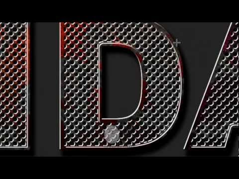 Mega Academy Adobe Photoshop Tutorial, Create Eroded Metal Text