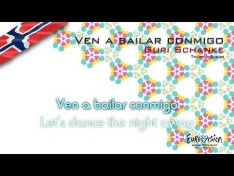"""Guri Schanke - """"Ven A Bailar Conmigo"""" (Norway) - [Karaoke version]"""