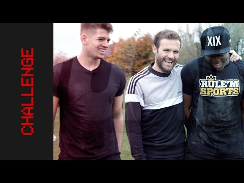 Penalty Challenge with KSI, Rule'm Sports and JMX | Juan Mata