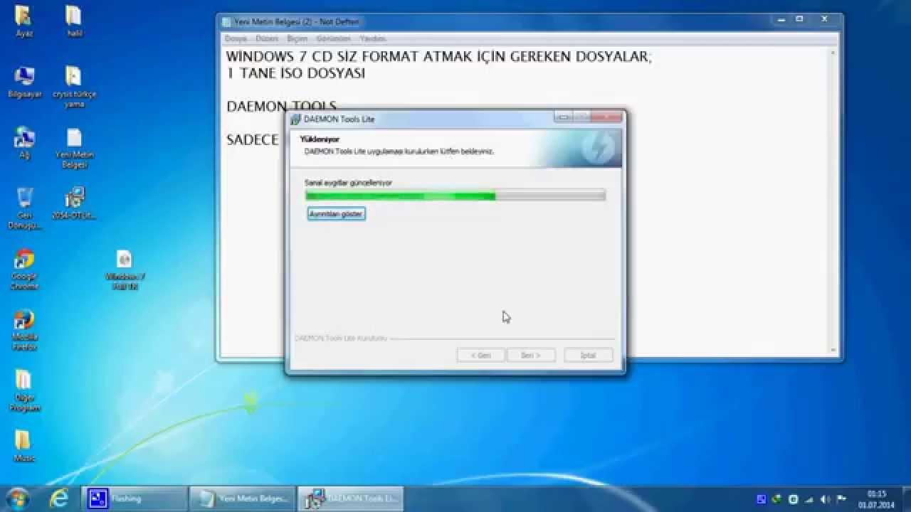 Bilgisayara cd'siz format atma güncel 2019👌 youtube.