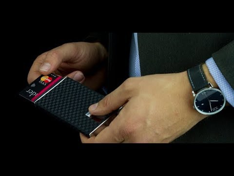 sale retailer 75619 07b2d Carbon Evo Smart Wallet - YouTube