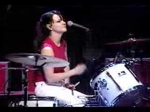 white drummer Meg