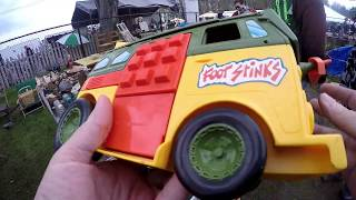 Live Retro Toy & Video Game Hunting Brimfield Show! Special Flea Market  Finds