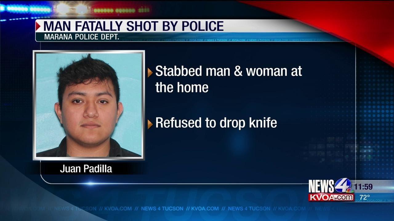 News 4 Tucson >> Marana Pd Identify Suspect In Officer Involved Shooting Kvoa Com