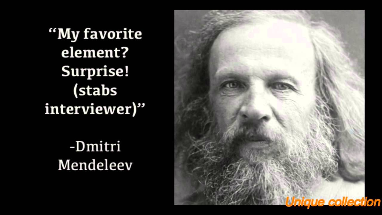 10 Facts about Dmitri Mendeleev