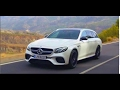 2018 Mercedes-AMG E 63 S 4MATIC+ Estate Trailer