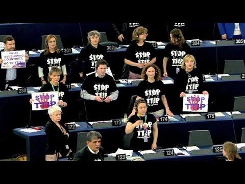 Streit über TTIP im Europaparlament - europe weekly