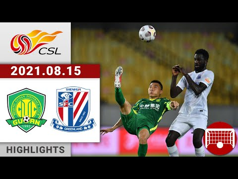 Beijing Guoan Shanghai Shenhua Goals And Highlights