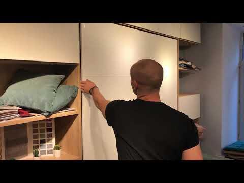 Шкаф кровать диван 3 в 1 - обзор мебели