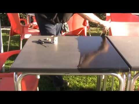 Rinnova plastica di tavoli e sedie per bar e ristoranti youtube - Fermatovaglia per tavoli di plastica ...