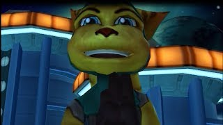 Ratchet & Clank: Going Commando (PS3-HD) ALL Angela Cross Scenes HD 720p