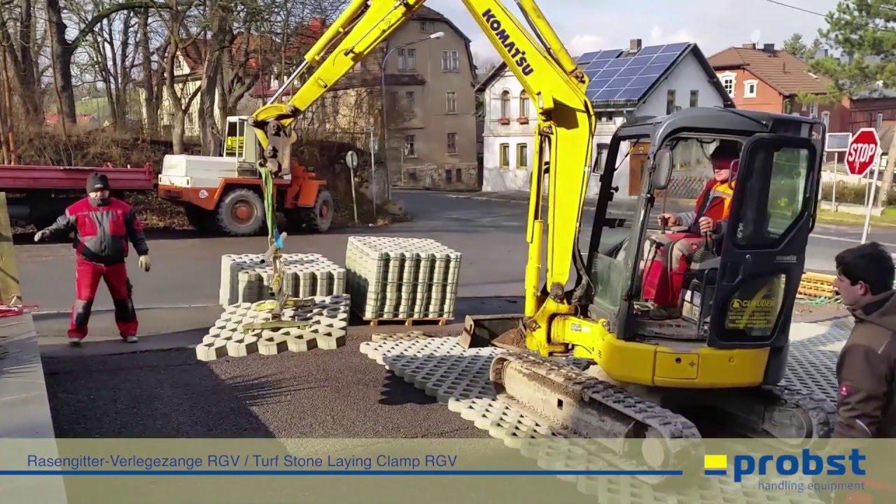 Probst Rasengitter Verlegezange RGV Verlegehilfe RGV-AS-9//9 Adapter RGV-9//9