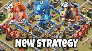 Max Electro Dragon 3 Max Lava 5 Max Valkyrie 30 Max Balloon New Strategy 3 Star War Attack TH12