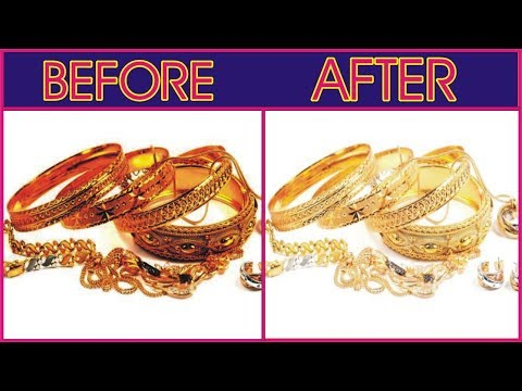 How to clean gold Jewellery at home |  How To Clean Jewelry By Golden Hacks
