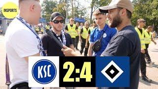 KSC VS HSV │DIE HAMBURGER WEITERHIN DIE NUMMER 1