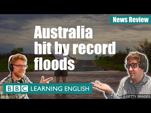 Australia's 'one-in-a-fifty-year' flood: BBC News Review