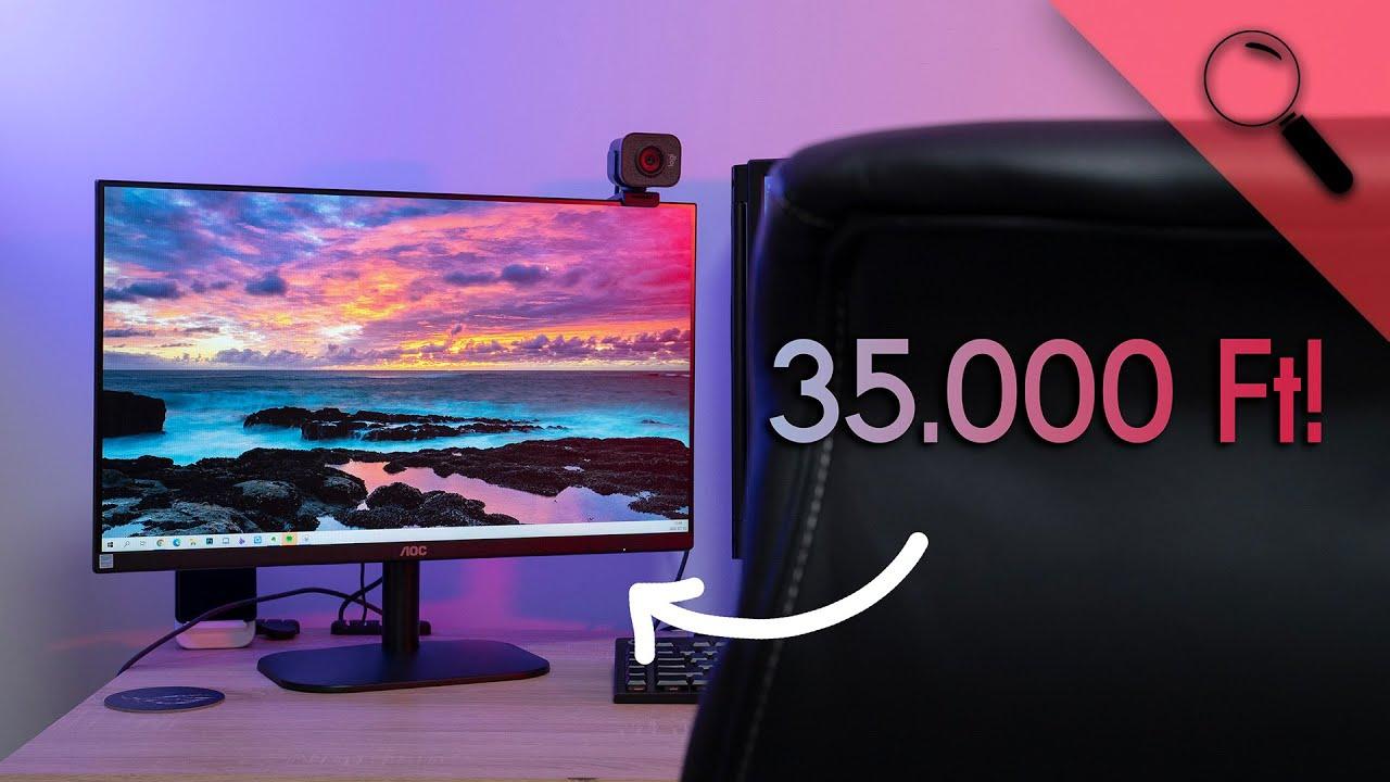 Egy TÉNYLEG OLCSÓ monitor, mindenkinek! AOC 24B2XH teszt