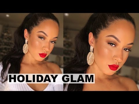 CLASSIC HOLIDAY MAKEUP | Marie Jay