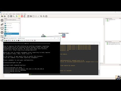 Setup ASAv 9 7 1 on GNS3 2 1 0 - VMWare Workstation - GNS3 VM by