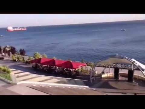 تركيا شاطئ فلوريا من أجمل شواطئ مدينة اسطنبول turkey istanbul floria beach