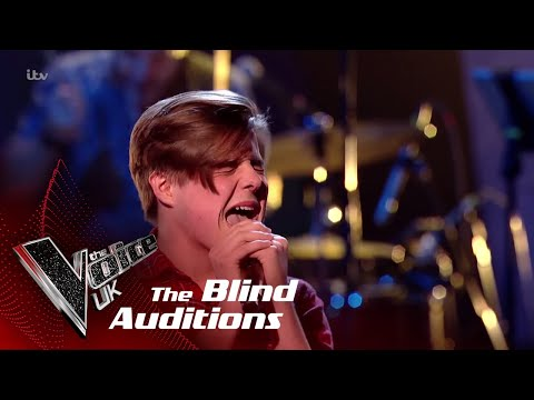 Zak Performs Handbags & Gladrags: Blind Auditions  The Voice UK 2018