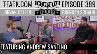 Download lagu The Fighter and The Kid - Episode 389: Andrew Santino